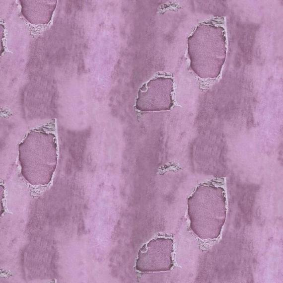 Prevešanka STRGANI JEANS roza