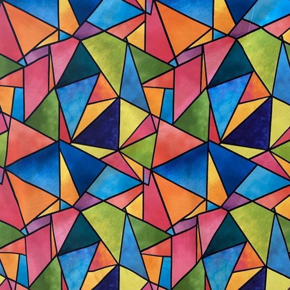 Jersey barvni trikotniki